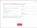 Trend Micro Account Creation