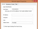 Remote Agent Properties