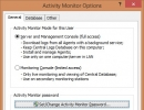 Activity Monitor Options