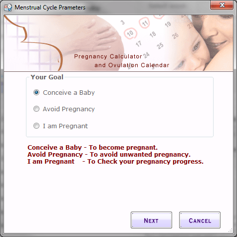 Menstrual Cycle parameter