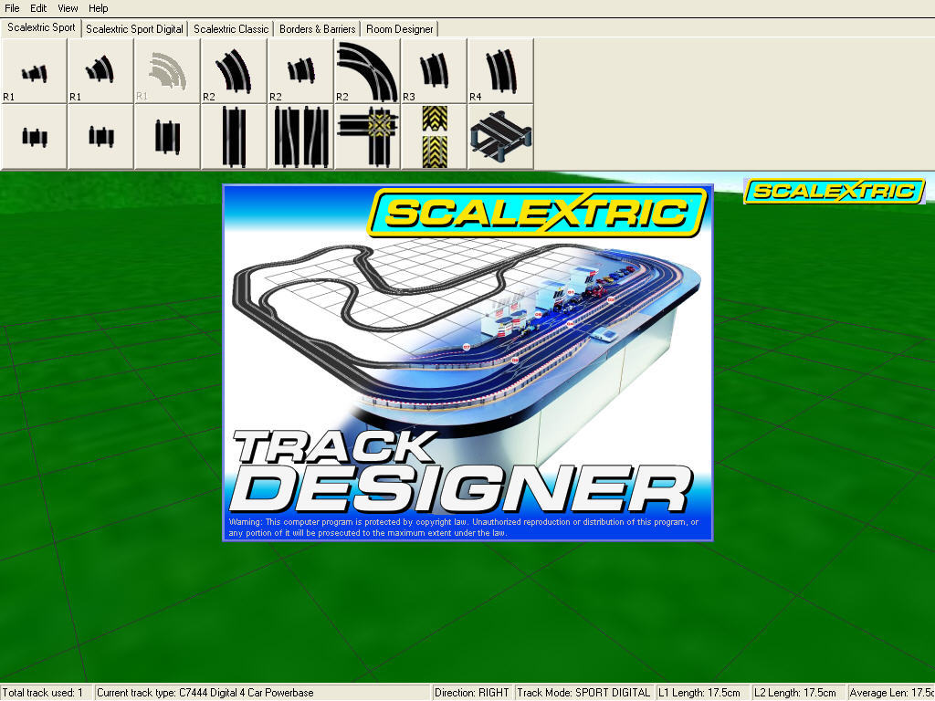 Scalextric Track Designer Software Informer Screenshots