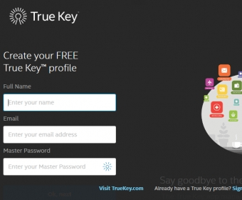 Intel Security True Key