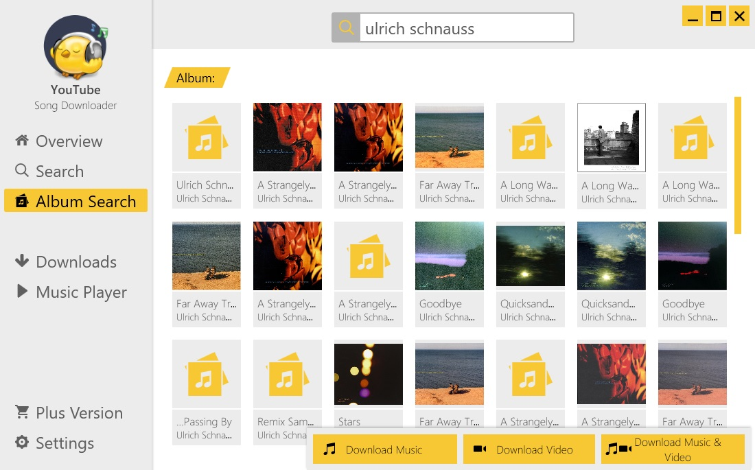 Search Albums