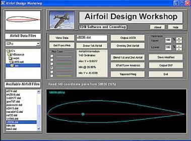 FREE WORKSHOP AIRFOIL DESIGN DOWNLOAD