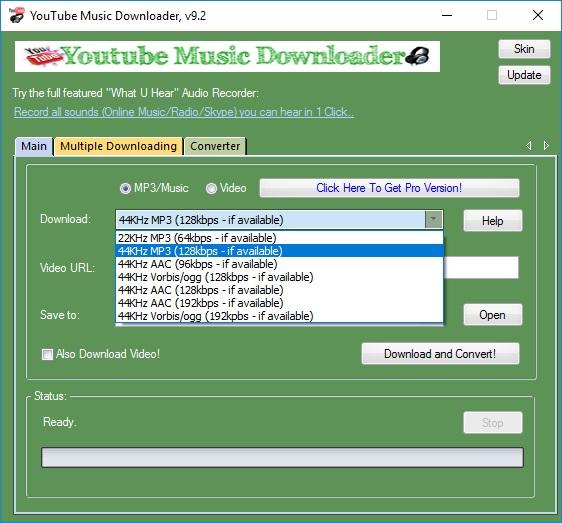 Audio Extraction Quality