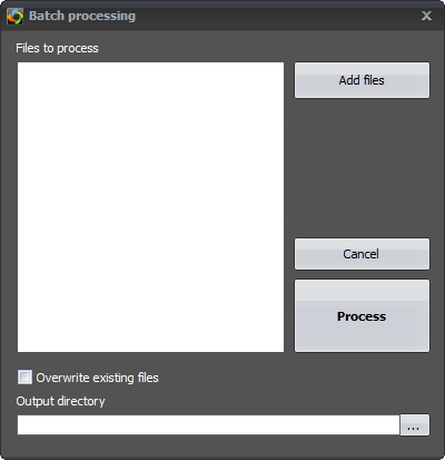 Batch Processing Window