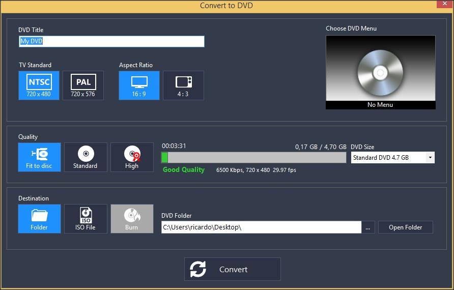 DVD Authoring Tool