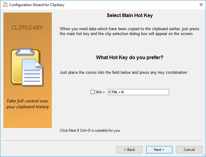 Main Hot Key
