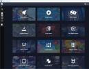 Game Categories Window