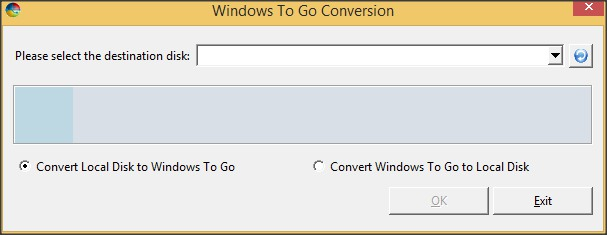 Windows To Go Conversion Tool