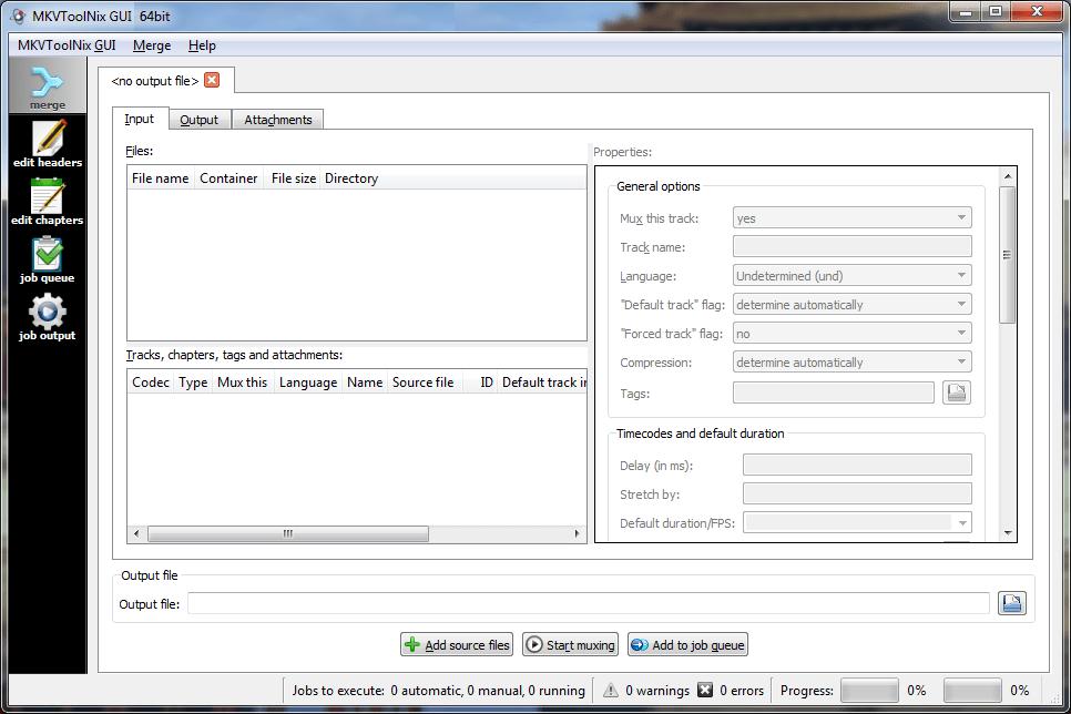 MKVToolNix GUI