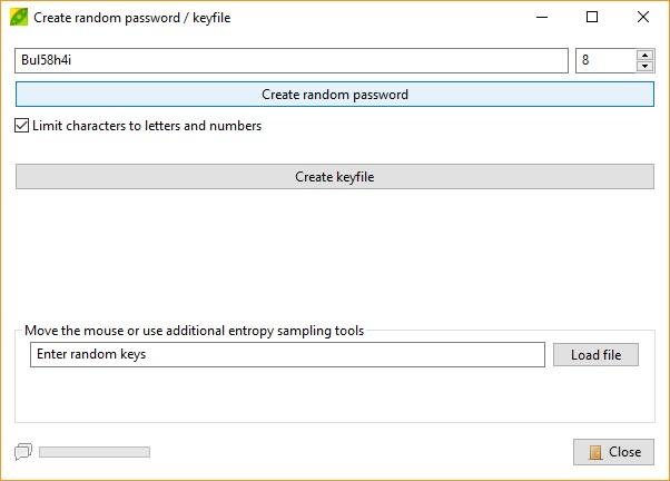 Create Random Password