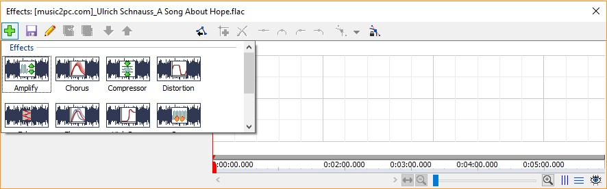 Audio Effect Editor