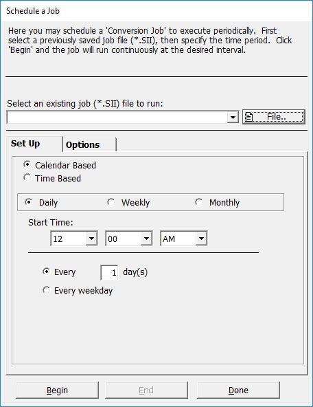 Scheduling Task