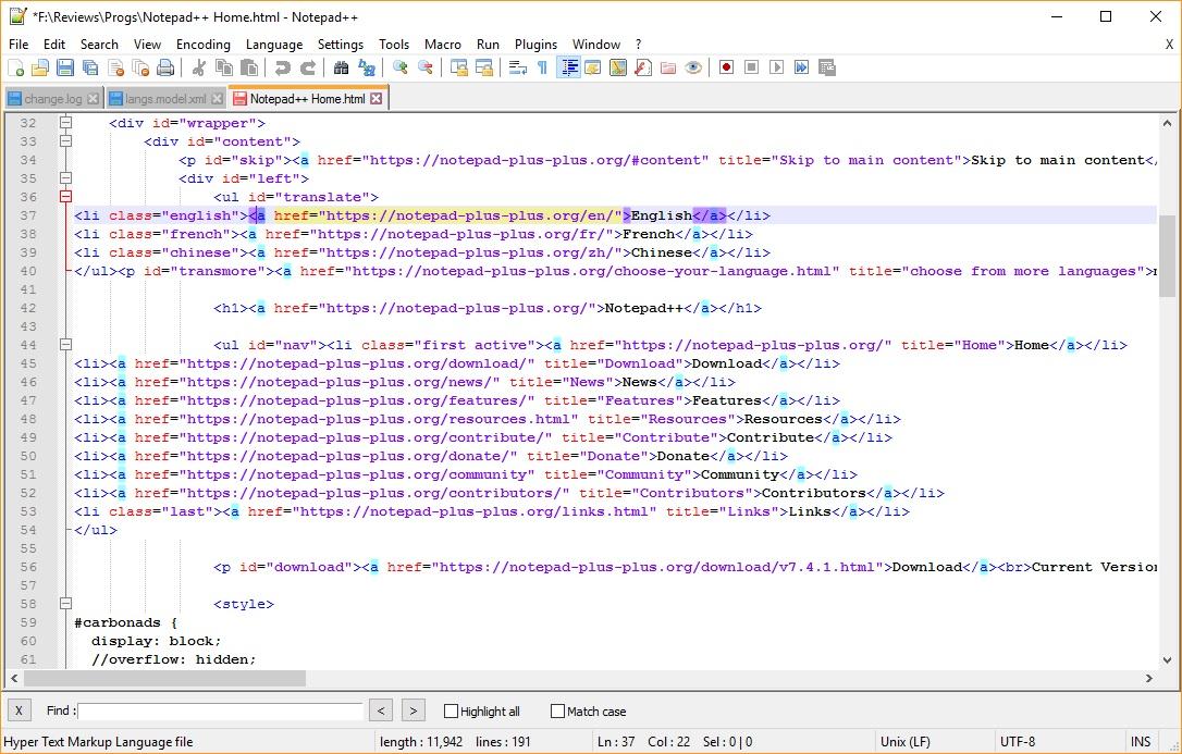 HTML Highlight