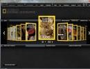National Geographic Magazine Running on Adobe AIR