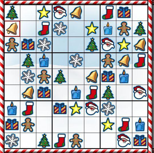 Alfa img - Showing > Christmas Sudoku Puzzles