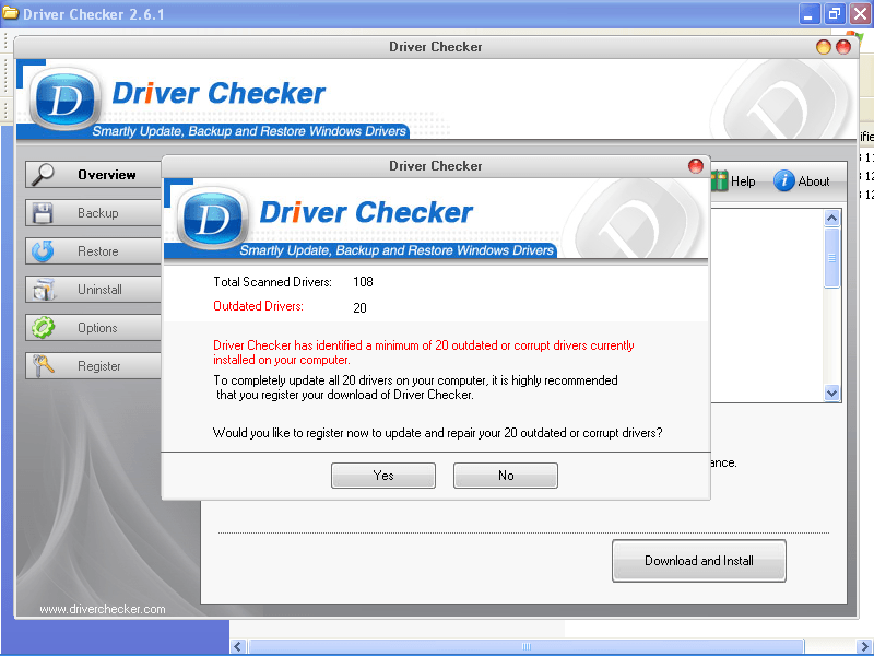 driver checker keygen 2.7 5