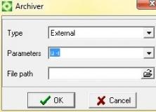 Archiver properties