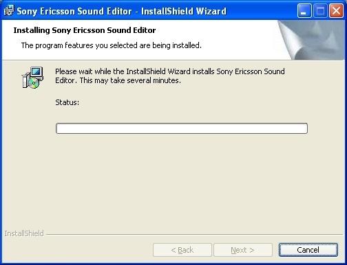 Installing Sound Editor