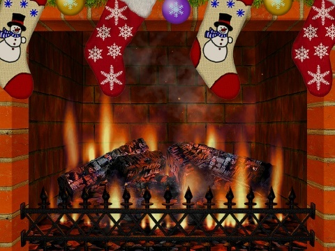 Christmas Fireplace Screen Saver Software Informer Screenshots