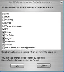 Default messenger