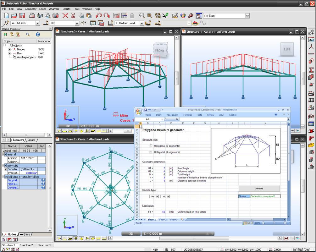 Autodesk Robot Structural Analysis Software Informer