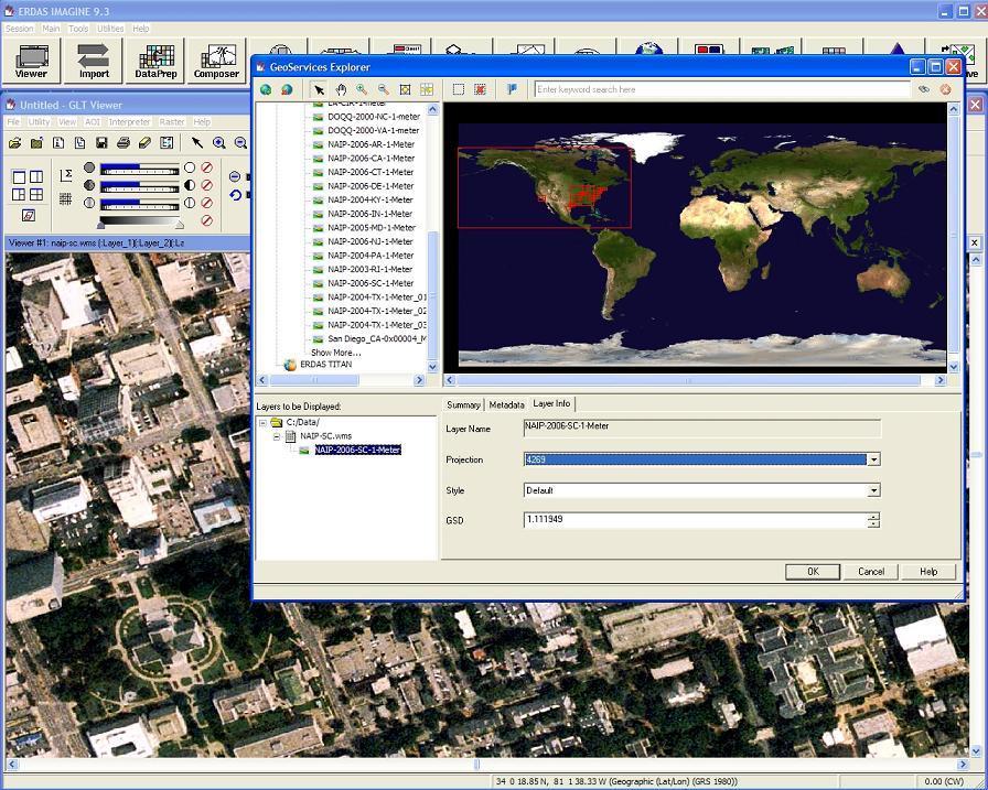 Geoservice Explorer