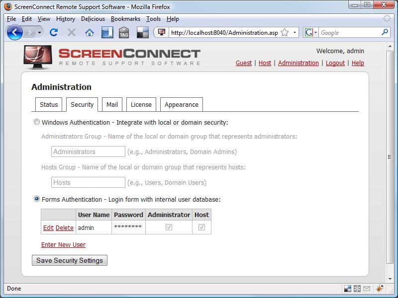 Elsinore ScreenConnect
