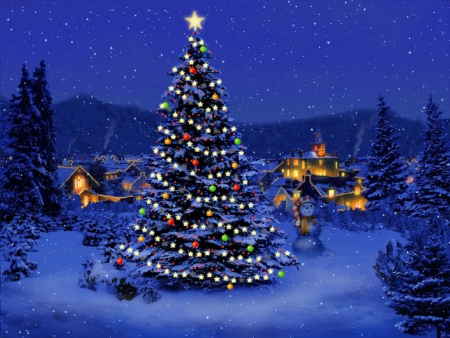 My 3D Christmas Tree Full Screen Saver Software Informer: Screenshots