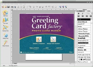 Greeting card factory 90 download free trial grtgcardexe main window m4hsunfo