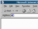 IE Menu Bar