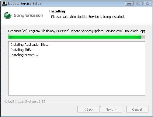 Installing Update Service