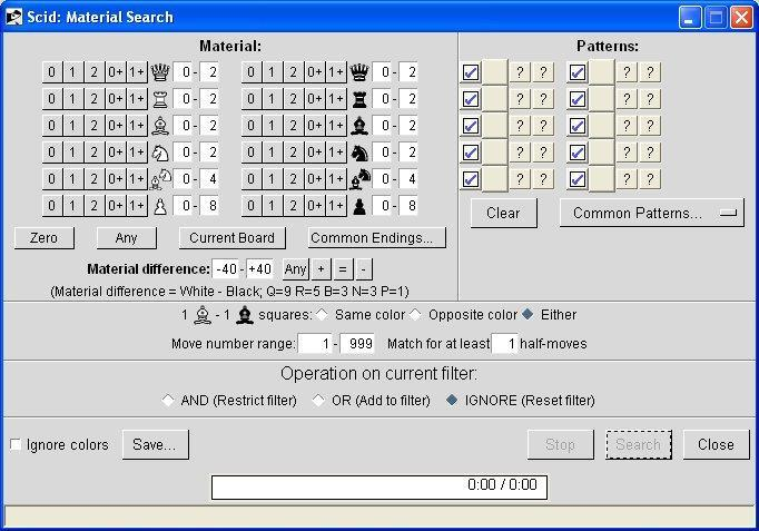 Material Search