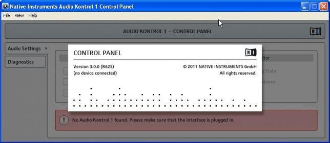Native Instruments Audio Kontrol 1 Driver Download