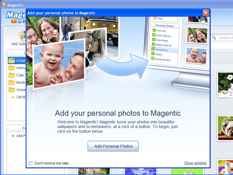Add Personal Photos