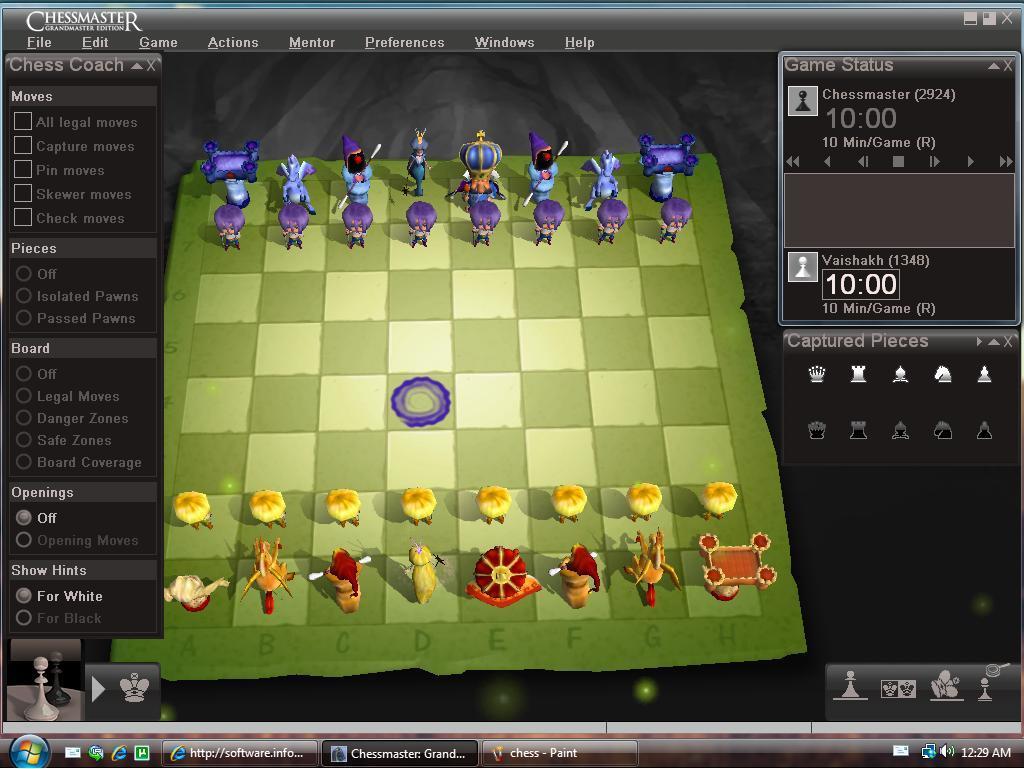 FairyTale Chess Set