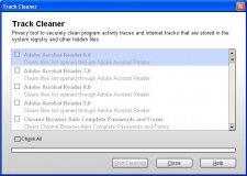 Windows tracks remover