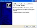 Convert AVI to MP4 setup