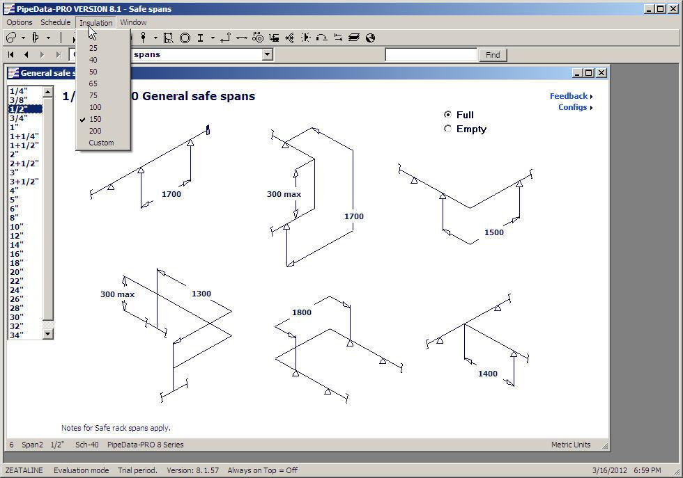PipeData PRO Software Informer Screenshots