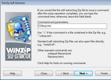 Post-Unzipping Command