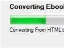 HTML to MOBI