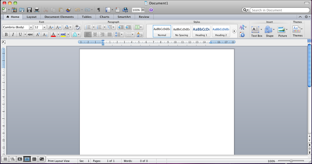 how to put a screenshot into word mac