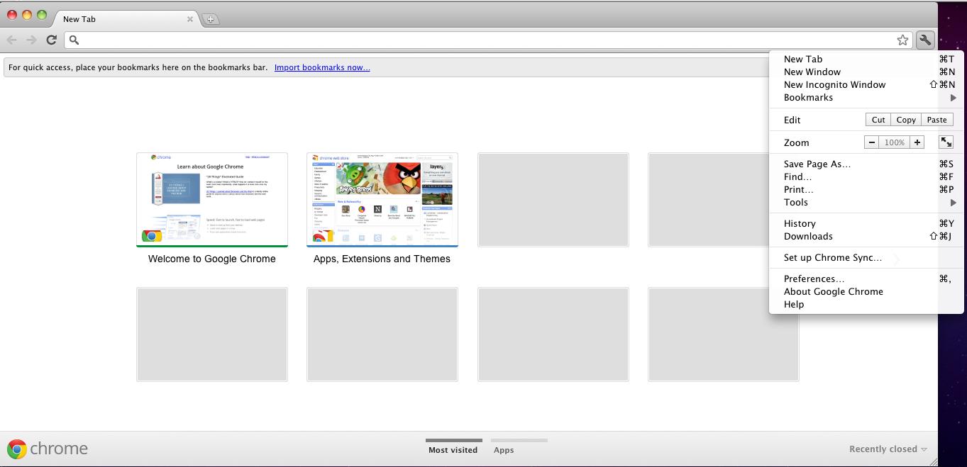 Google themes mac - Google