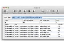 SiteSucker screenshot