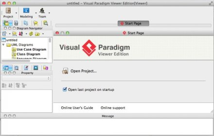 main window - Visual Paradigm Viewer