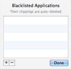 Blacklisted Aplications