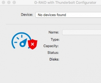 G Raid With Thunderbolt Configurator For Mac Change The