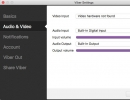 Audio/Video Options