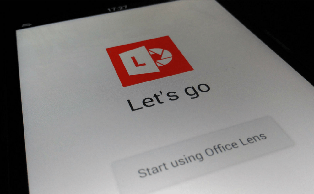 Microsofts Office Lens For Android No Longer In Beta